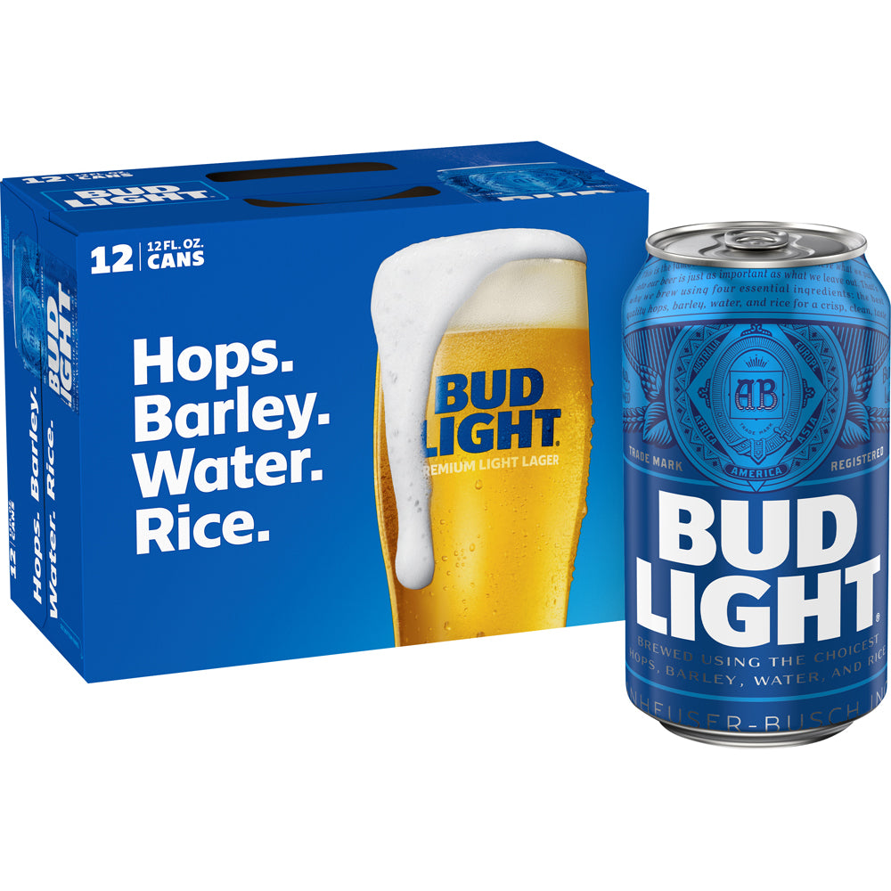 Bud Light 12 Cans (12 oz)