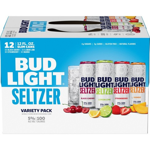 Bud Light Seltzer Variety Pack 12 Cans (12 oz)