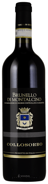 2014 Collosorbo Brunello di Montalcino