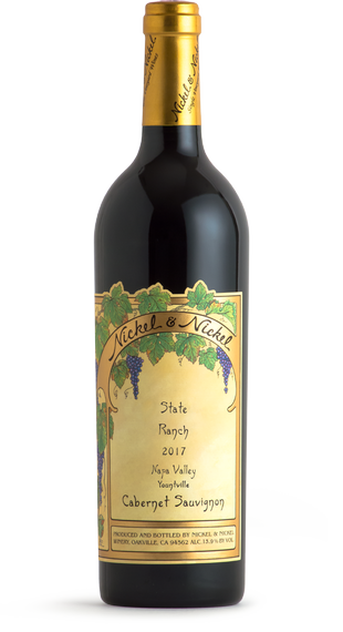 2017 Nickel and Nickel Cabernet Sauvignon State Ranch