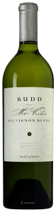 2017 Rudd Estate Sauvignon Blanc Mt. Veeder