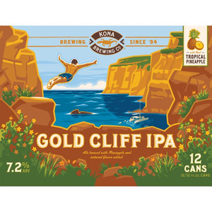 Kona Gold Cliff IPA 12 Cans (12 oz)