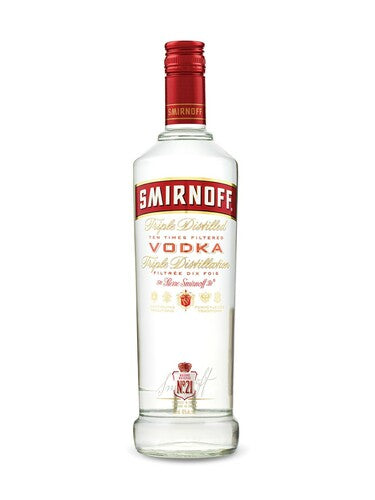 Smirnoff Vodka (750ml)