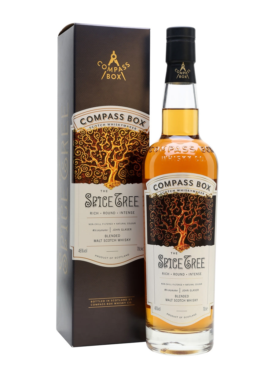 Compass Box Spice Tree Blended Malt Scotch Whisky (750ml)