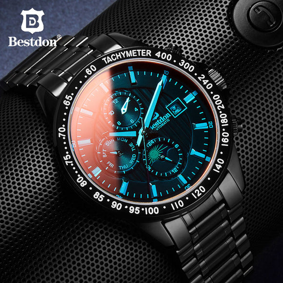 Mens Mechanical Military Watch