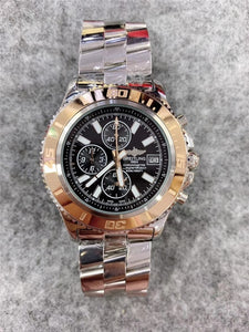 NEW Breitling Mechanical Wristwatch Stainless Steel Strap relojes hombre automatic