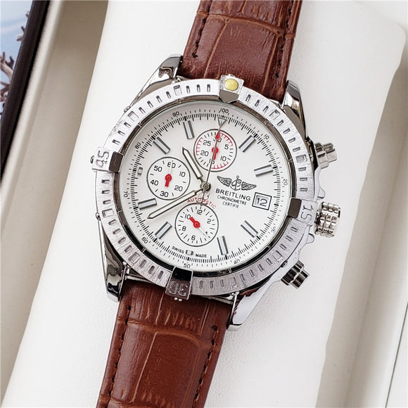 Mechanical Stainless Steel Strap Watch