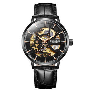 Men's Skeleton Mechanical Watch