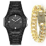 Fashion Iced Out Diamond Watch