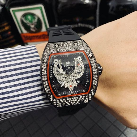 2020 Richard Automatic Wristwatches Top Luxury Brand RM 1: 1 Same Watch Man's DZ Watches Male Clock Gift Waterproof reloj hombre
