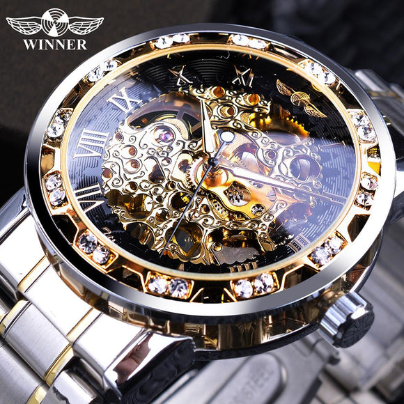 Transparent Fashion Diamond Watch