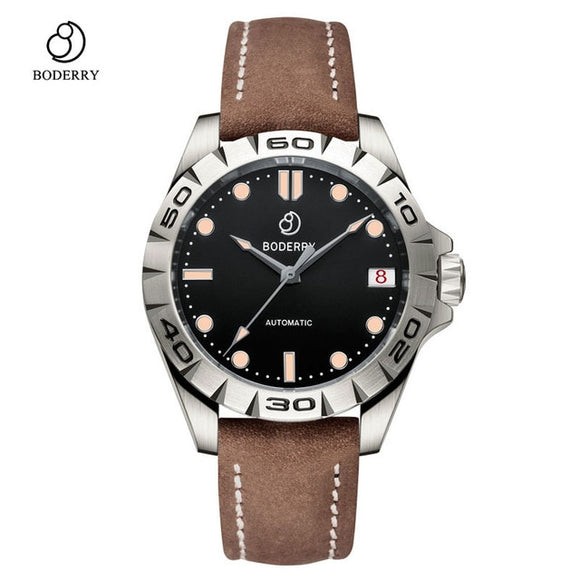 Titanium Men's Automatic Mechanical Watch