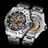 Automatic Mechanical Luminous Stainless Steel Watch