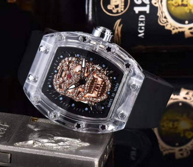 Skull Shape Men's Sports Watches