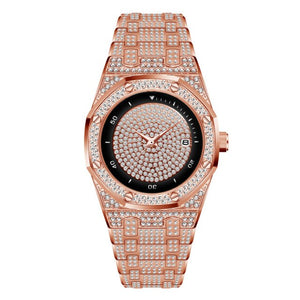Men Gold Diamond Watches