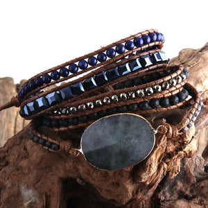 Handmade Beaded Wrap Bracelet