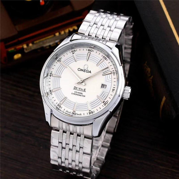 Mens Stainless Steel Waterproof Watch