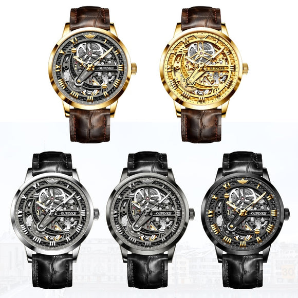 Men's Steampunk automatic Watch