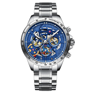Gemstone Skeleton Watch m