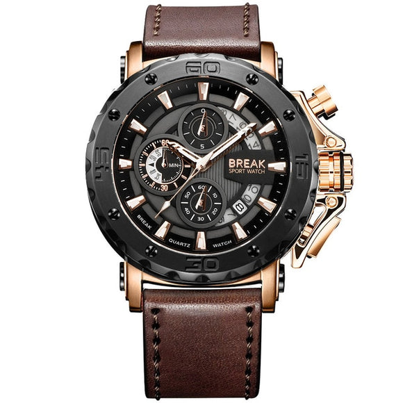 Sport Chronograph Quartz Watch