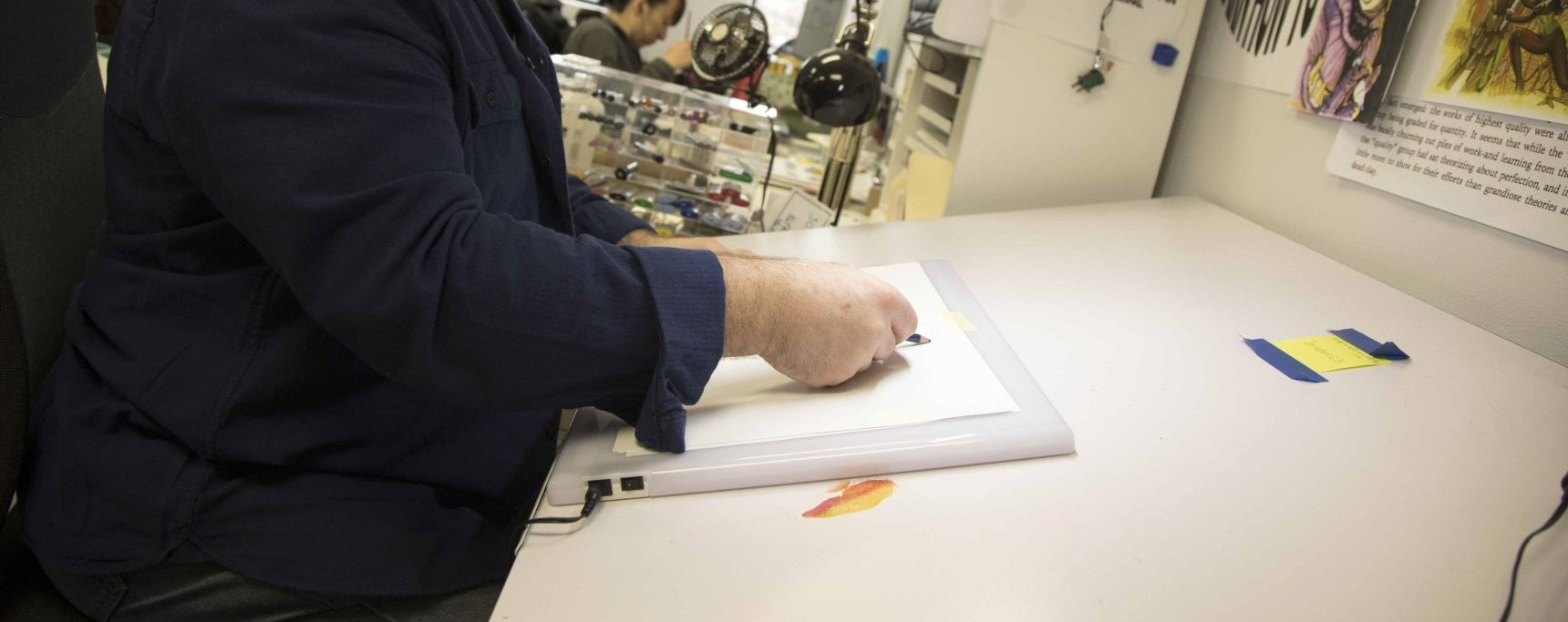 Using An Led Light Box To Master Your Drawing Process Copic Tool That S Free For Users Design And Draw Circuit
