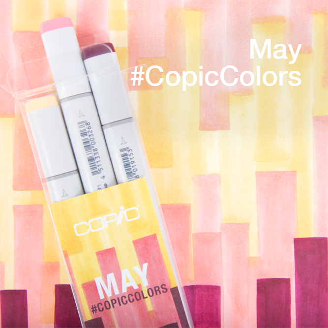 Introducing May #CopicColors | Copic