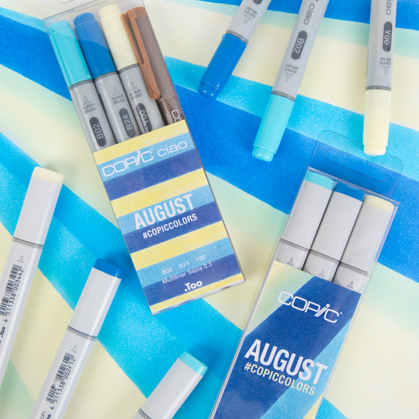 August Copic Colors