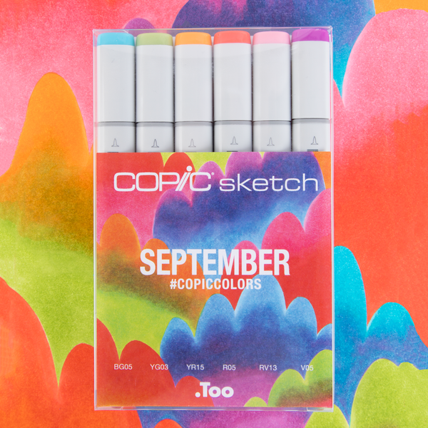 Copic Colors September