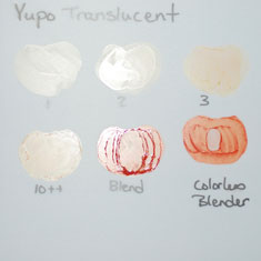 Copic Marker Test On Yupo Paper