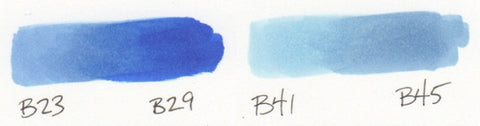 Best Copic Blue for Super Heros