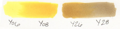Best Copic Yellow for Super Heros
