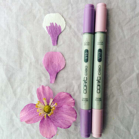 Flower Variation Coloring | Copic Marker
