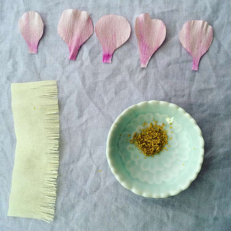 How To Make Crepe Paper Flowers With Copic Markers Copic