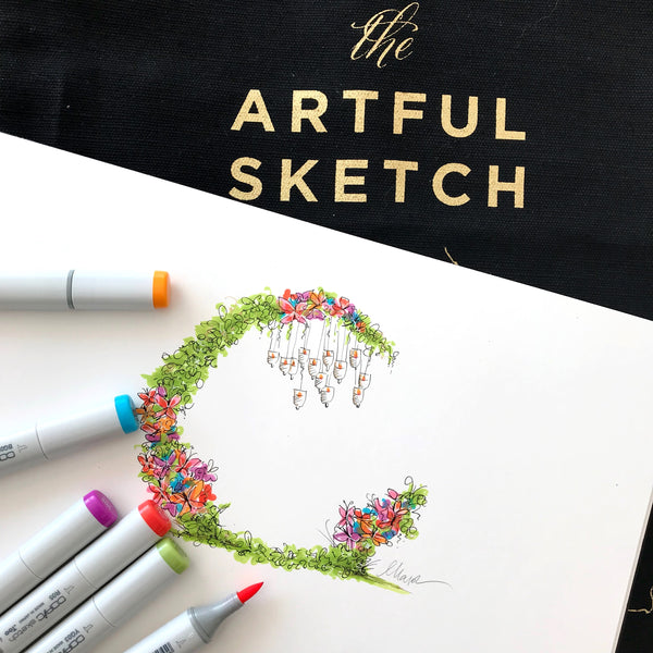 Mary Phan The Artful Sketch