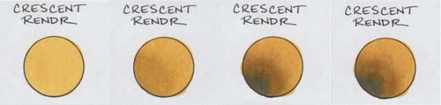 Crescent Rendr Paper Test | Copic Markers