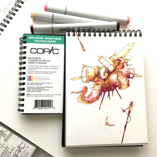 Kenneth Rocafort #CopicColors