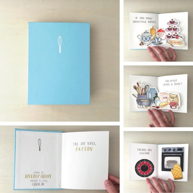 make your own pop up book copic