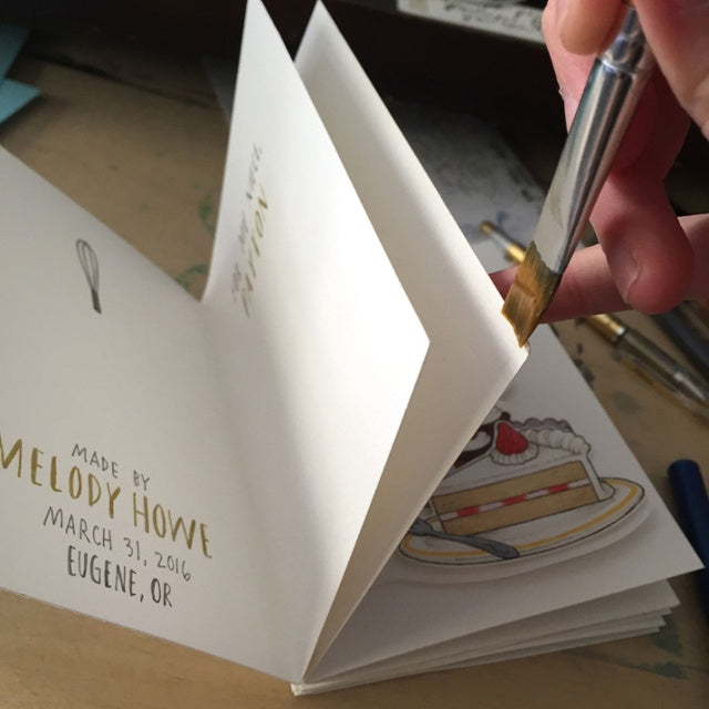 Attach Pages With Glue
