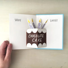 DIY pop up book inside illustrations