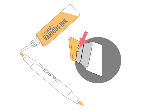 How to Refill your Copic Markers