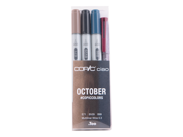 October #CopicColors Ciao Set