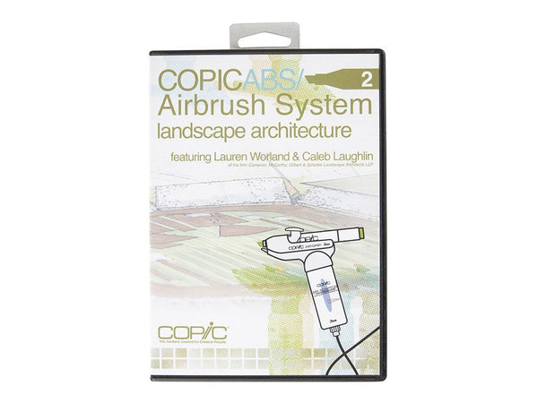 Airbrush Landscape Architecture DVD