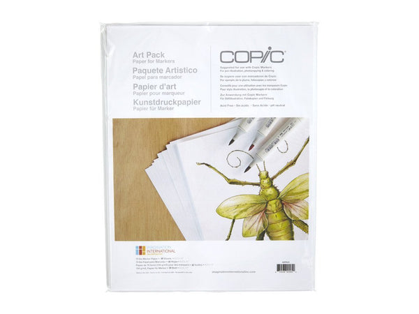 Coloring Foundations Art Paper Pack