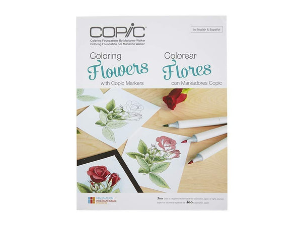 Coloring Foundations: Coloring Flowers with Copic Markers