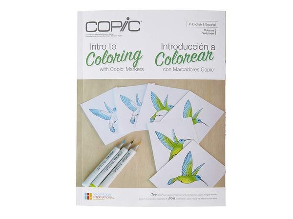 Coloring Foundations: Intro to Coloring with Copic Markers