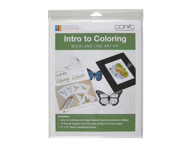 Coloring Foundations: Intro to Coloring Book and Line Art Kit