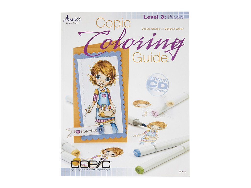 Copic Coloring Guide Level 3: People | Copic