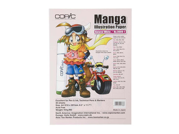 Manga Illustration Paper