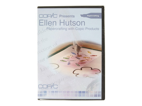 Ellen Hutson: Papercrafting with Copic Products DVD