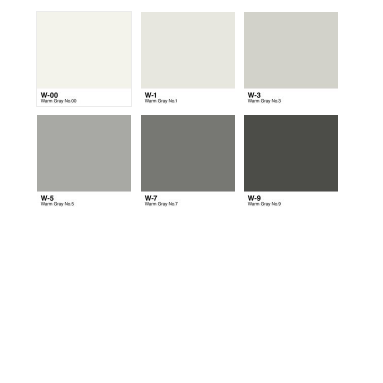 6pc Sketch Color Combo - Warm Gray